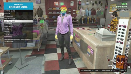 """GTA 5 """"PIMPIN POLICE OUTFIT"""" COOL OUTFIT GLITCH AFTER PATCH 1.26/1.28 (GTA V GAMEPLAY)"""