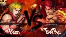 ULTRA STREET FIGHTER IV Ken vs Evil Ryu PS4