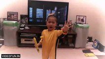Funny sport 2015 - 5 Year Old Perfectly Recreates Bruce Lee Amazing Moves [Funny Sport]]
