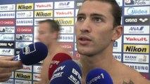 Natation - ChM (H) - Relais 4x100m 4 nages : Perez Dortona «Ca nous laisse espérer une médaille»