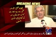 Mouth Breaking Reply To India By Khawaja Asif