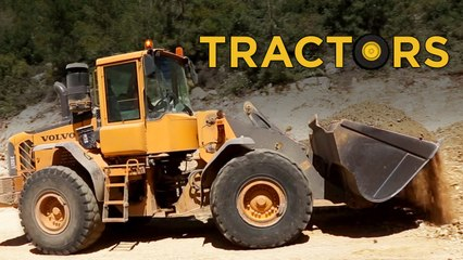 Trucks and Tractors  | Videos For Children |  Toys for Boys