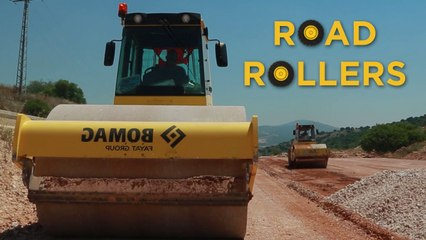 Trucks Road Rollers and Tractors  | Videos For Children |  Toys for Boys