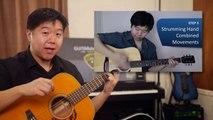 Drum Beat Strumming technique - free percussive acoustic guitar tutorial