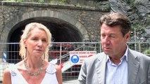 Hautes-Alpes : Visite Christian Estrosi Chambon
