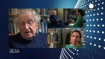 """""""USA und Israel sind Schurkenstaaten... zerstören die Menschheit und die Umwelt"""" Noam Chomsky"""