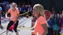 President Obama vs. Wozniacki-Federer and Hingis To Reunite?