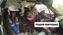 Travis Pastrana POV onboard from Rally in 100 Acre Wood 2014