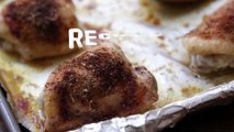 Chicken Recipes - How to Make Crispy Baked Chicken Thighs