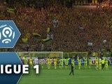 FC NANTES - EA GUINGAMP: 1-0 (Samedi 8 août 2015, 1ère journée de Ligue 1)