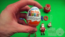 Kinder Surprise Egg Learn A Word! Spelling Holiday and Christmas Words! Lesson 21