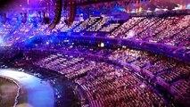 Olympic Flag Enters London 2012 Olympic Stadium