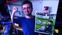 Vauro e Vincino  - La satira è antieroica - Servizio Pubblico 8 gennaio 2015