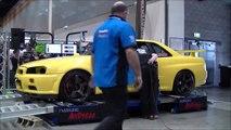"""""""NITTO"""" R34 GTR Gold Coast Auto Salon 2010 Dyno Comp"""