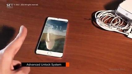 iPhone 7 với màn hình 3D   IP7 with screen 3D
