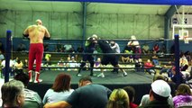 The Mikes (Psycho Mike & Mustang Mike) vs. Bad Company (Stan Sweetan & Marty Graw) - VooDoo Wrestling
