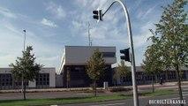 Probe-Alarm-Neue elektronische Sirene auf dem Dach der Feuerwache in Bocholt wird getestet
