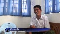 Myanmar's 'tallest man' seeks medical aid abroad