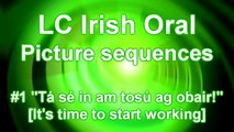 [Picture Sequence #1 for the IRISH ORAL 2012] (Leaving Cert.) ~LEARN TO SPEAK IRISH #1~