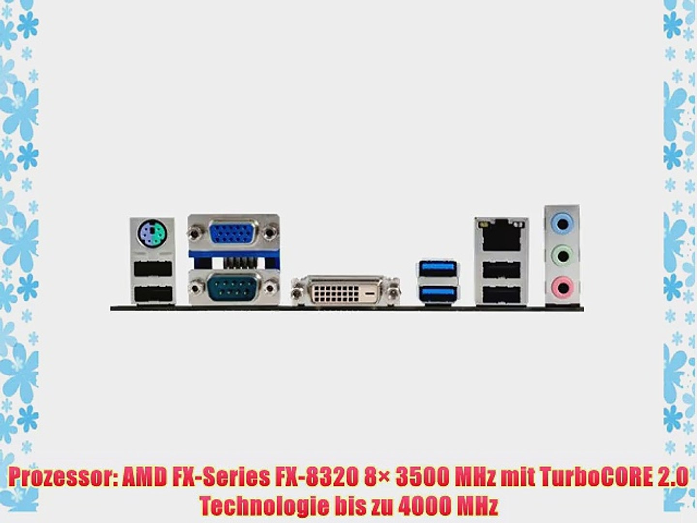 AMD FX-8320 / ASUS M5A78L-M LE/USB3 Mainboard Bundle / 32768 MB | CSL PC Aufr?stkit | AMD FX-Series