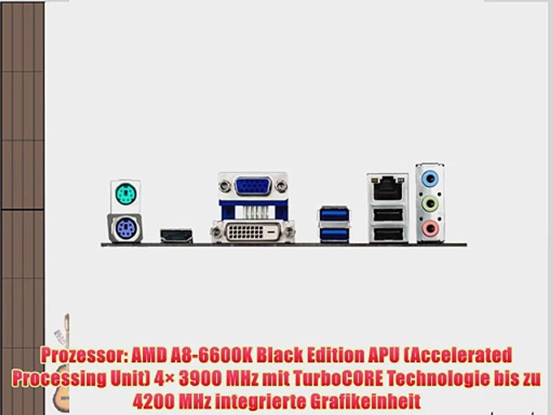 AMD A8-6600K / ASUS A78M-A Mainboard Bundle | CSL PC Aufr?stkit | AMD A8-6600K APU 4x 3900