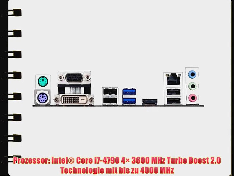 Intel Core i7-4790 / ASUS B85M-G Mainboard Bundle / 4096 MB | CSL PC Aufr?stkit | Intel Core