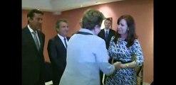 26 de ENE. Cristina Fernández  y Dilma Rousseff mantuvieron una reunión bilateral en La Habana.