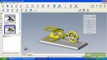 Simulink + SimMechanics + SolidWorks Importer + VRML viewer