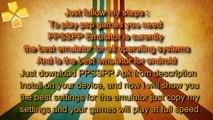 TEKKEN 6 - PPSSPP FULL SPEED SETTINGS / Configuration (PC