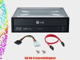LG 16x Blu ray / BDXL / BD / M-Disc / CD / DVD Brenner f?r Desktop mit Kostenlos 1 Mdisc DVD