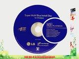 LG 14X Blu ray / BDXL / BD / M-Disc / CD / DVD Brenner f?r Desktop mit Kostenlos 1 Mdisc DVD
