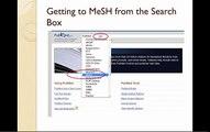 MeSH  Understanding the MeSH Record