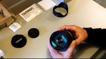 Tamron SP 24-70mm F2.8 Di VC USD Unboxing/AF/VC/Bokeh