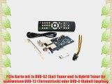 DVBSky T9580 PCIe Karte mit 1x DVB-S2 und 1x DVB-T2 / DVB-C Tuner keine CD stattdessen partitionierter