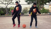 Popping Show   Ivy & Chucky   Basketball Popping - Dubstep