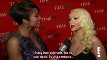 """Christina Aguilera - Entrevista E! Gala """"TIME 100"""" 2013 (Subtítulos español)"""