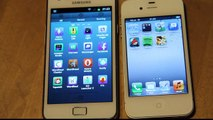 Siri Meets Iris! Samsung Galaxy S2 vs. iPhone 4S Voice Technology! Apple vs. Android!