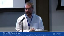 Streamed Clustering of Lightning Mapping Data in Python Using sklearn; SciPy 2013 Presentation