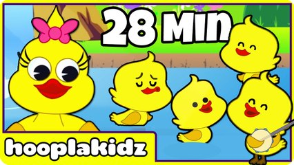 Five Little Ducks - Nursery Rhyme Compilation