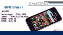 I9000 Galaxy S | Samsung Galaxy Mobile Phone Specifications | Brands & Features List
