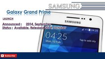 Galaxy Grand Prime | Samsung Galaxy Mobile Phone Specifications | Brands & Features List