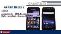 Google Nexus S | Samsung Galaxy Mobile Phone Specifications | Brands & Features List