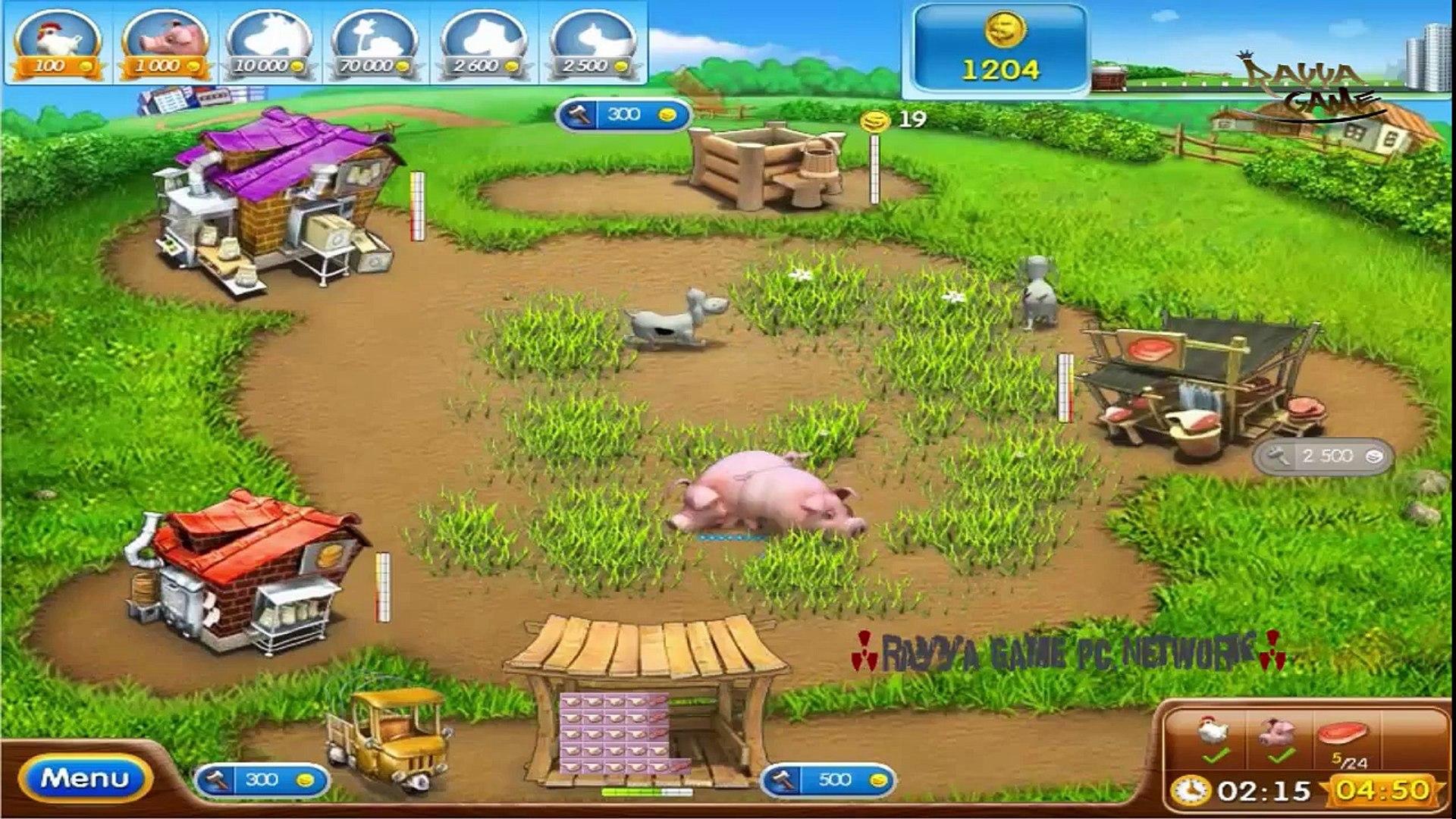 Farm Frenzy 2 lvl 25 - video dailymotion
