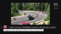 Cyclisme : très violente chute sur le Tour de l'Utah