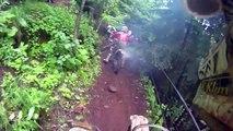 Erzberg Enduro Rodeo Helmet Cam - Best of Compliation Mike Sigety - 2011 Prolouge Hills Start Cliffs