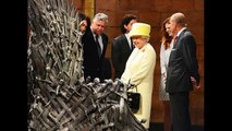 Queen Elizabeth Visits Game of Thrones Set — See the Monarch With the Iron Throne, Jon Snow and More