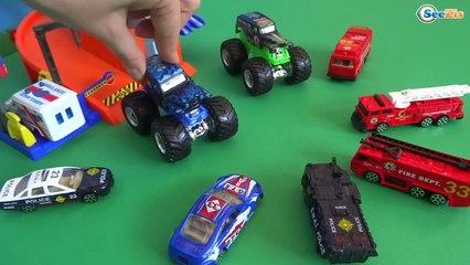 Мультики про Машинки | Ремонт машин | Машинки Хот Вилс и Монстр Трак - Трактор Павлик