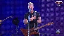 Metallica - James fails to switch guitar sound - Fade to Black - Rock in Rio 2011
