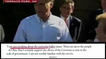 Unions: Mitt Romney Flip-Flops on Supporting Unions