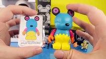 Disney Pixar Wall E Interactive EVE Figure Toy Disney Mini Figure Gift Set Toys Vinylmation Unboxing